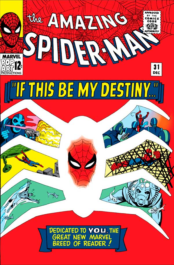 If This Be My Destiny…!, Amazing Spider-Man #31-33, Людина-Павук коміси