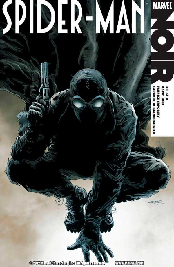 Spider-Man-Noir #1, Человек паук Нуар, Людина павук нуар