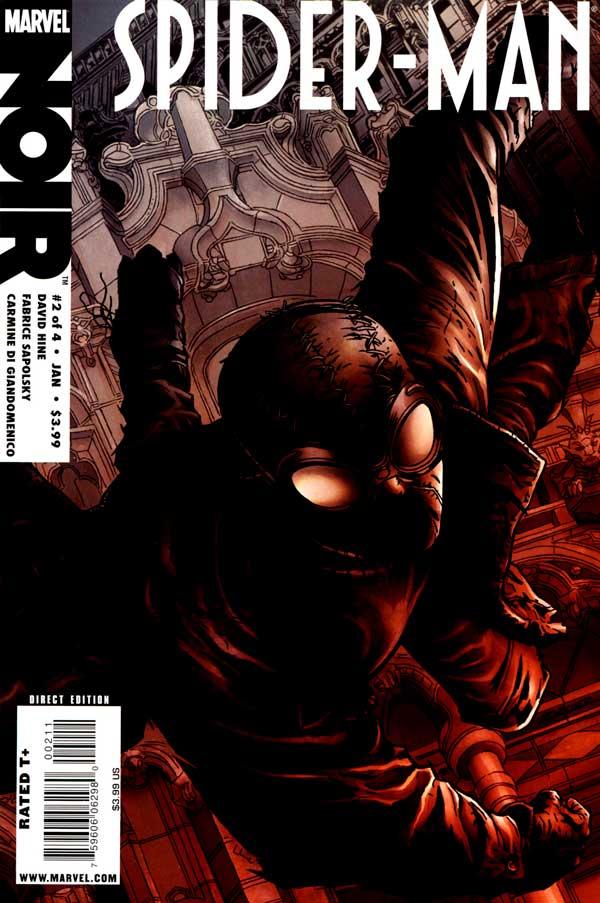 Spider-Man-Noir #2, Человек паук Нуар, Людина павук нуар