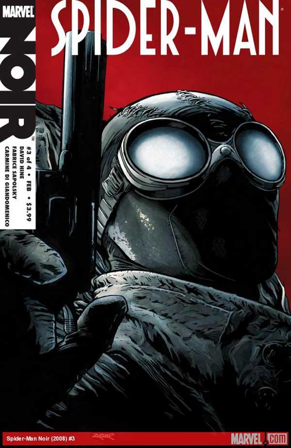 Spider-Man-Noir #3, Человек паук Нуар, Людина павук нуар