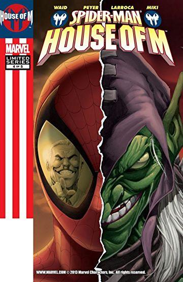 House-of-M-Spider-Man #4, День М Человек- паук комиксы