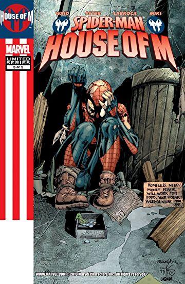 House-of-M-Spider-Man #5, День М Человек- паук комиксы