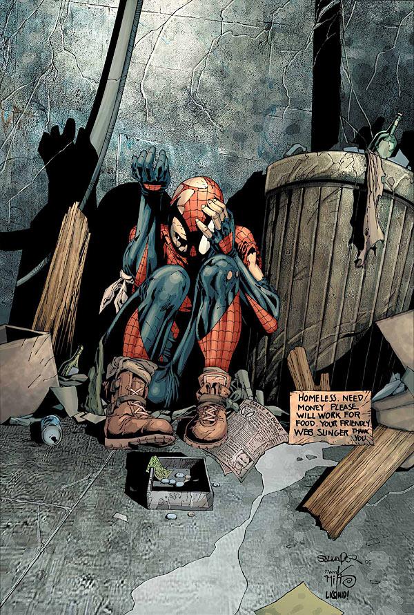 House of M Spider-Man, Человек-Паук День М, Людина-павук комікси день М
