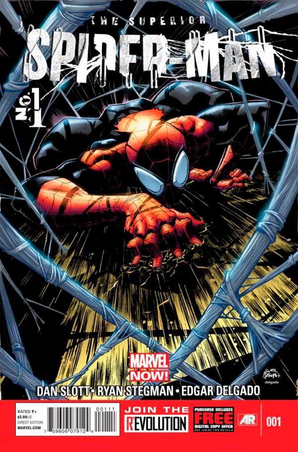 Superior Spider-Man #1, людина-павук, комиксы про человека-паука