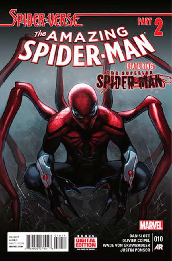 Amazing Spider-Man Vol 3 #10, людина-павук, человек паук комиксы
