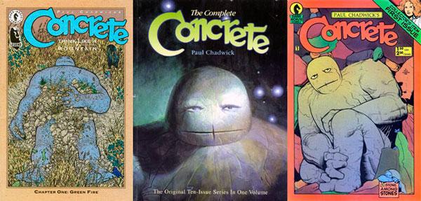 Concrete Paul Chadwick, комікси Дарк Хорс, комікс бетон