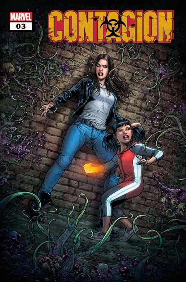 Marvel comics, комікси Марвел, Contagion