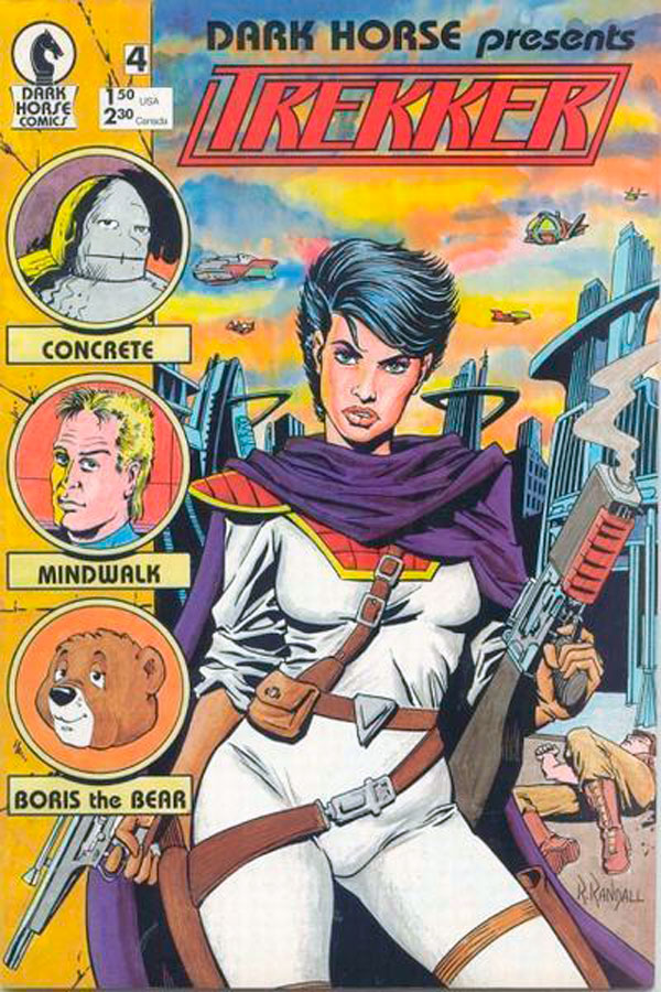 Trekker і Black Cross comics, комікси дарк хорс, Dark Horse Present