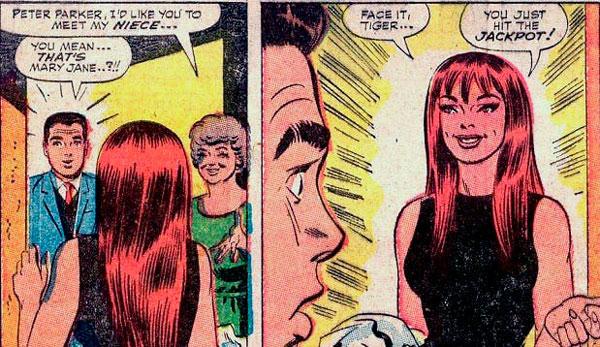 Мері Джейн (Mary Jane), Spider man