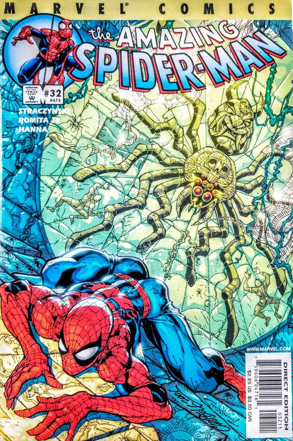 The Amazing Spider-Man vol. 2 #32, Ezekiel Sims, Ізекіль Людина Павука комікси