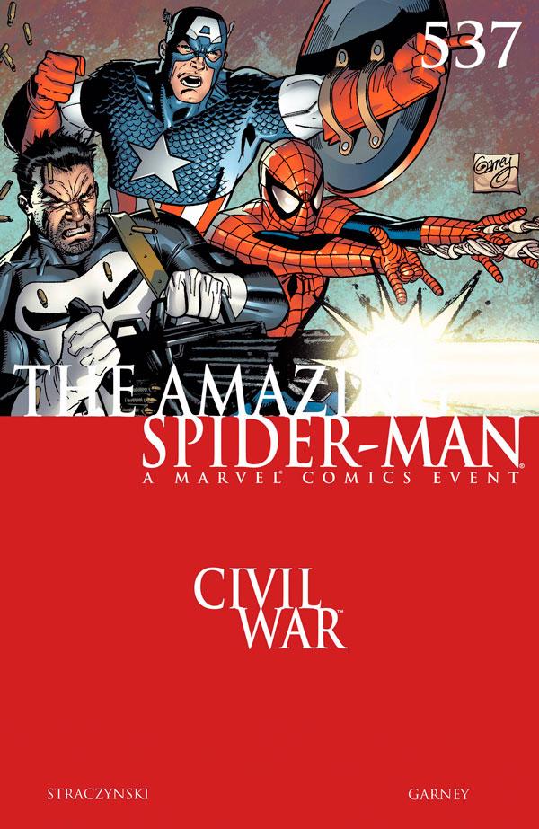 Amazing Spider-Man (1999) #537, комиксы про человека паука, комікс людина павук