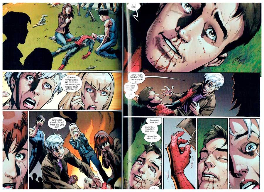 Ultimate Spider-Man #160, смерть Пітера Паркера, смерть Людини Павука, комікси про Людину Павука