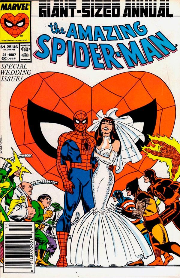 The Amazing Spider-Man Annual # 21, комікси про людину павука