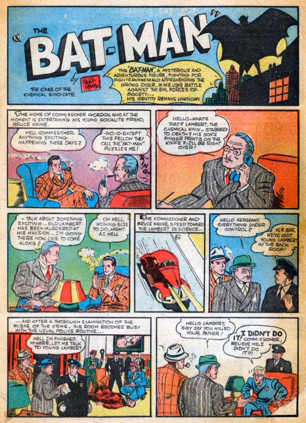 Джим Гордон, комікси про Бетмена, комісар Джеймс Гордон