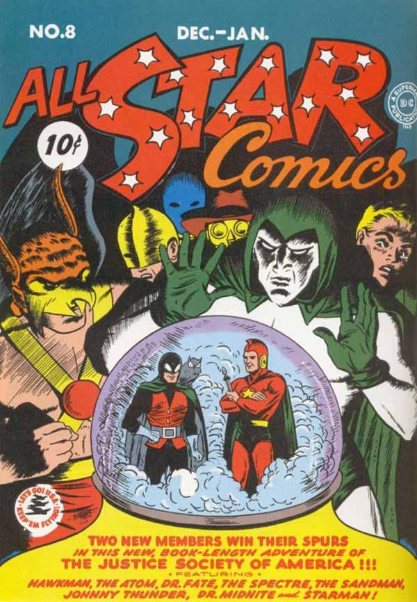 All Star Comics #8, Чудо-жінка, Wonder Woman, комікси ДС, комікси Чудо-жінка
