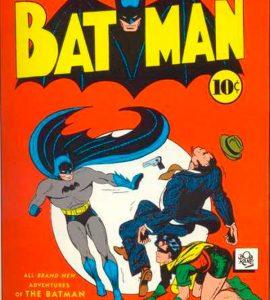 Batman #2 - Batman and Robin, комікси про Бетмена, Темний лицар комікси