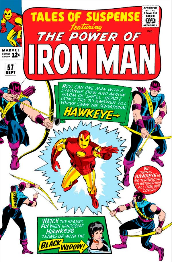 Hawkeye, комікси Соколине Око, Соколиный Глаз Марвел,Tales of Suspense # 57