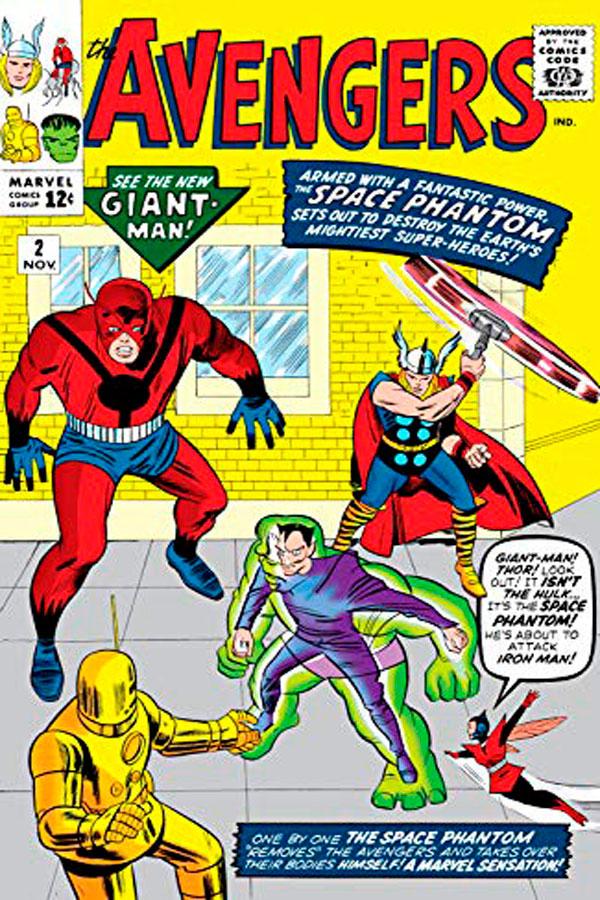 комікси про Месників, the-avengers-2-vol-1, месники комікс