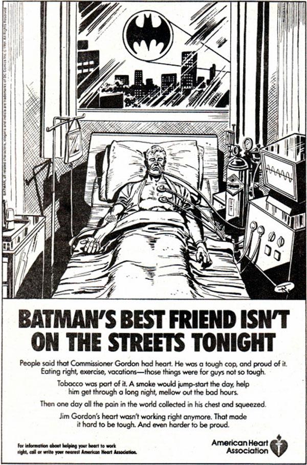 Джим Гордон та Сара Ессенс, комікси про Бетмена, комісар Джеймс Гордон