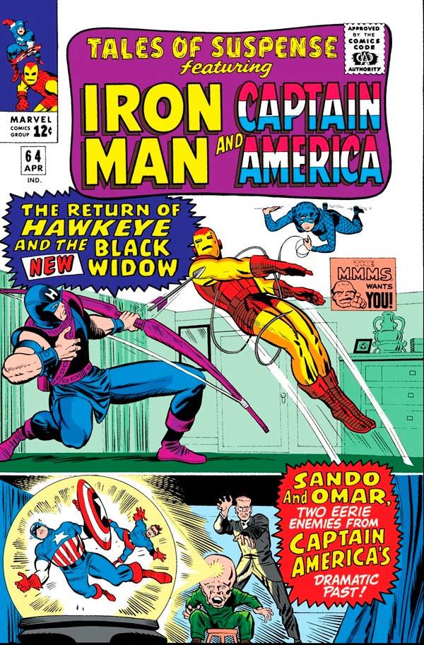 Hawkeye, комікси Соколине Око, Соколиный Глаз Марвел, Tales of Suspense # 64