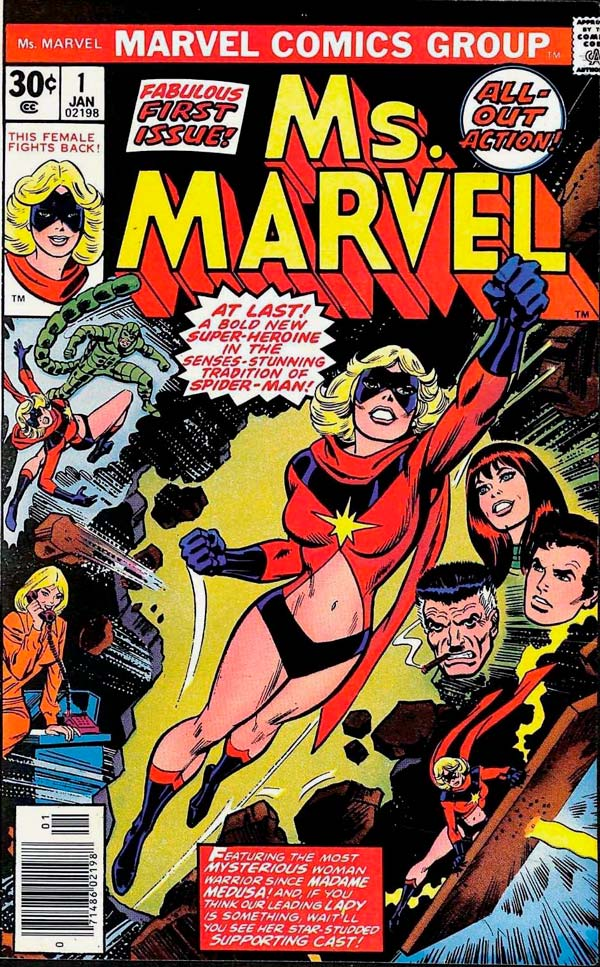 Ms. Marvel #1, ms marvel, carol danvers, капітан марвел комікси