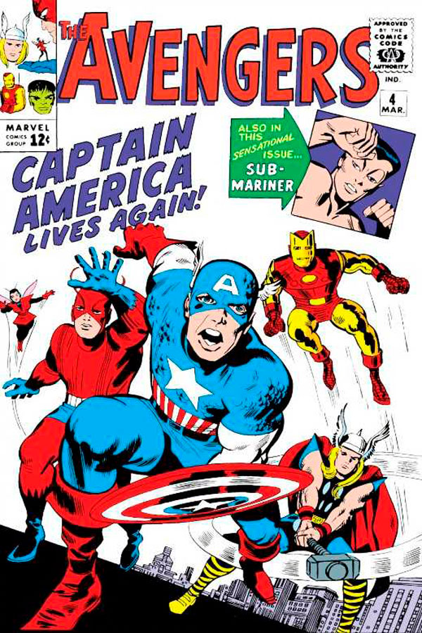 комікси про Месників, the-avengers-4-vol-1, месники комікс