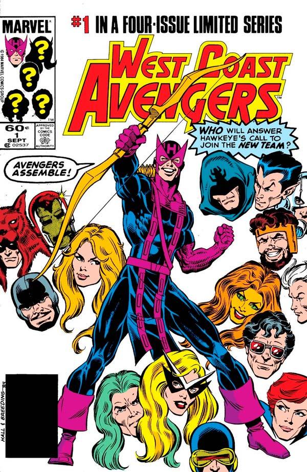 West Coast Avengers # 1, Hawkeye, комікси Соколине Око, Соколиный Глаз Марвел