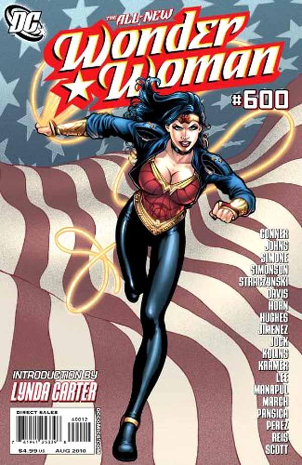 Wonder Woman # 600, Діана Принц, Чудо жінка, Wonder Woman, комікси марвел, комікси Диво жінка