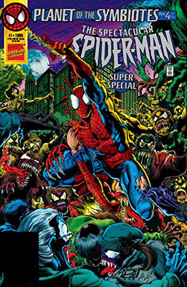 Spectacular Spider-Man Super Special #1: Planet of the Symbiotes, комікси про Людину Павука, комікси Марвел