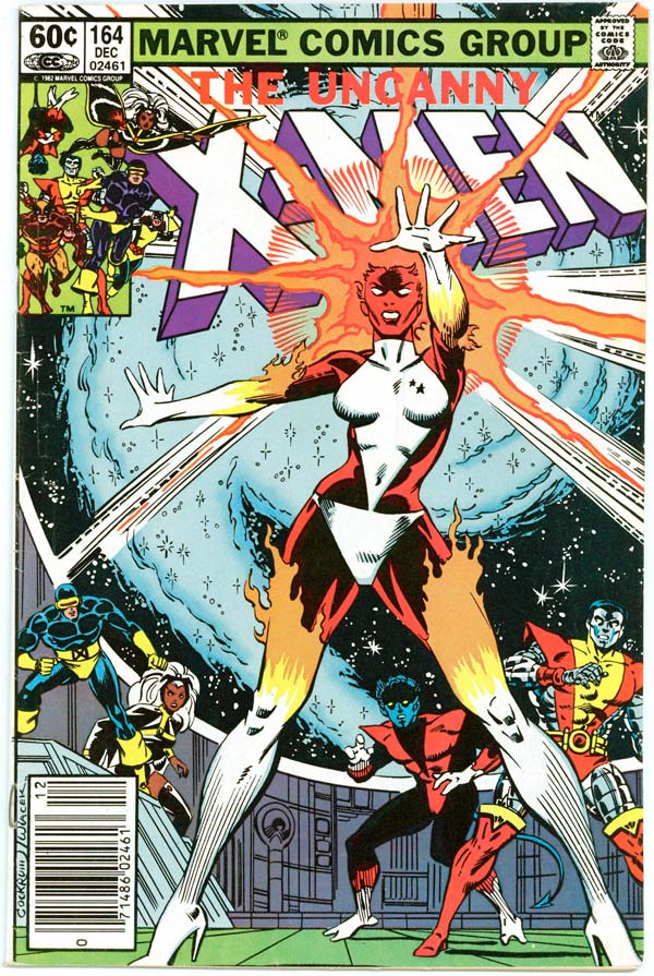 The Uncanny X-Men # 164, Binarу, Captain Marvel comics