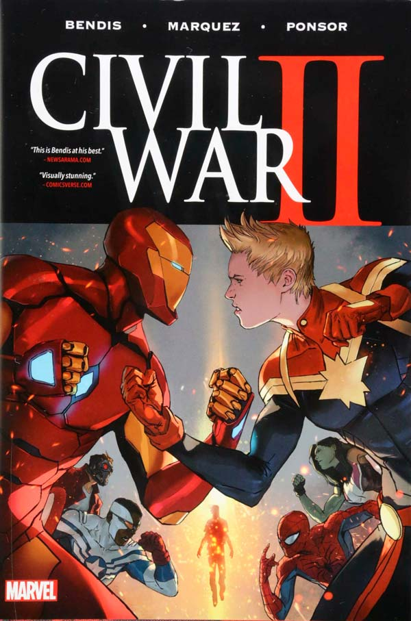 Civil War II - Vol. 1-8 comics, Captain Marvel comics, Капітан Марвел комікси