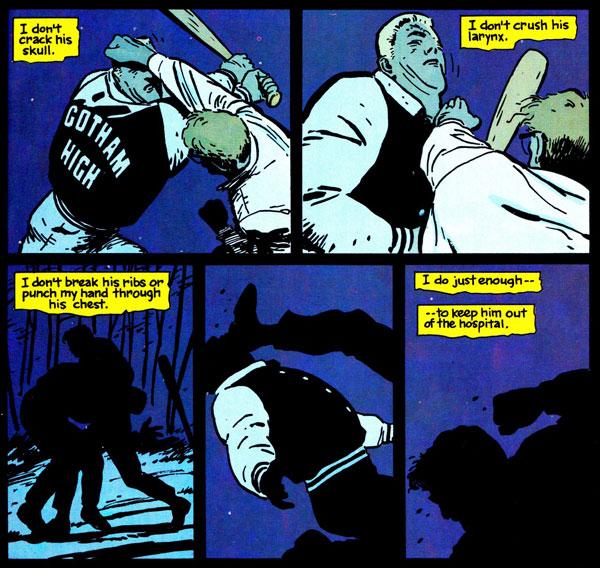 barman year one, бетмен рік перший, Джим Гордон та Сара Ессенс, комікси про Бетмена, комісар Джеймс Гордон