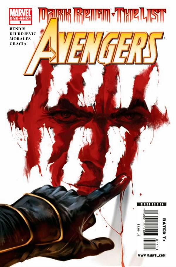 Dark Reign: The List - Avengers Vol 1 1, комікс Хоукай Марвел, Ронін, Соколине Око