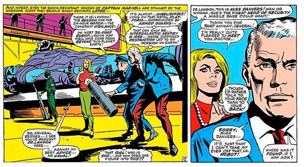 Marvel Super-Heroes #13, Carol Danvers, керол денверс, капітан марвел комікси