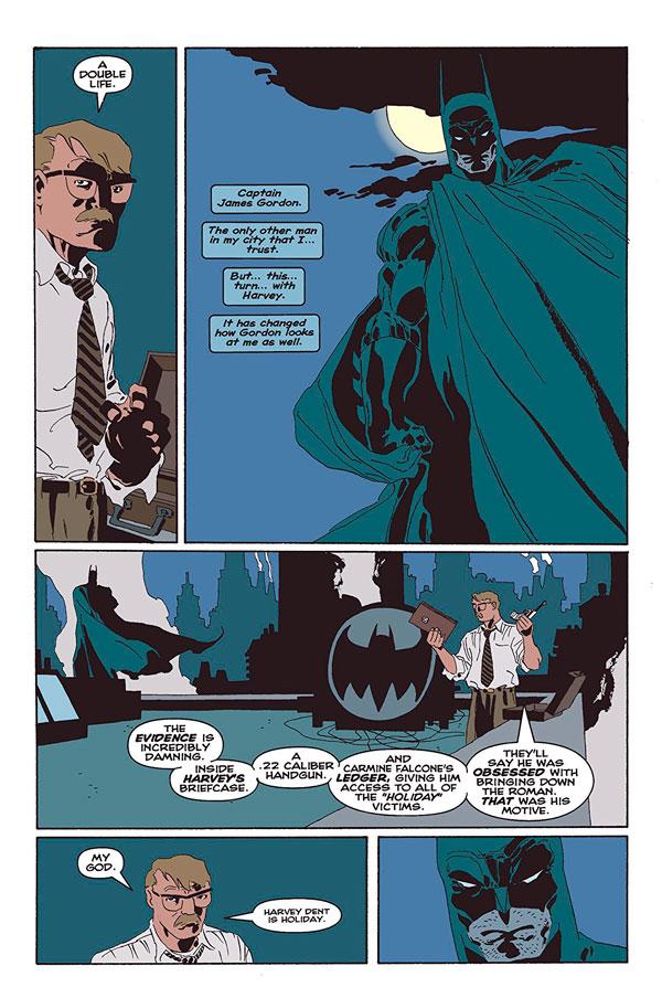 james gordon long the long halloween, Джим Гордон, комікси про Бетмена, Бетмен Довгий Геловін