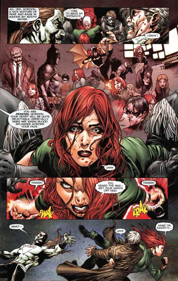 Batman Blackest Night #2, Джим Гордон, комікси про Бетмена, комісар Джеймс Гордон, Барбара Гордон