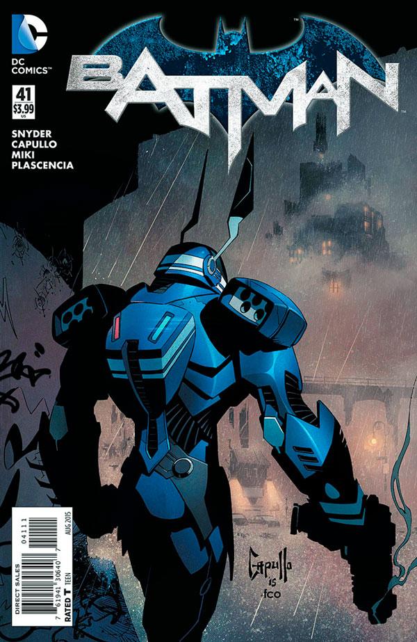 Batman #41 (2011), Джим Гордон, комікси про Бетмена, комісар Джеймс Гордон
