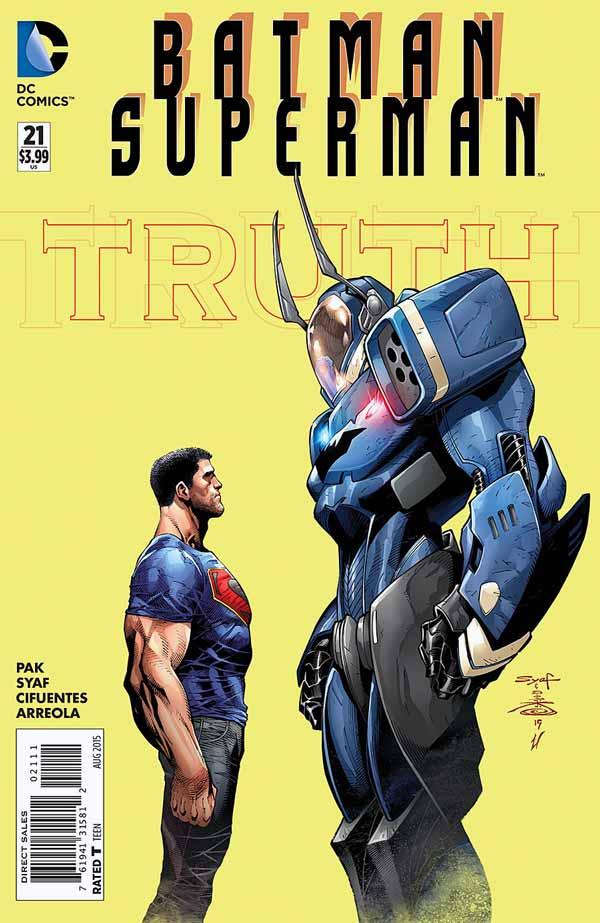 BATMAN SUPERMAN #21, Джим Гордон, комікси про Бетмена, комісар Джеймс Гордон Бетмен