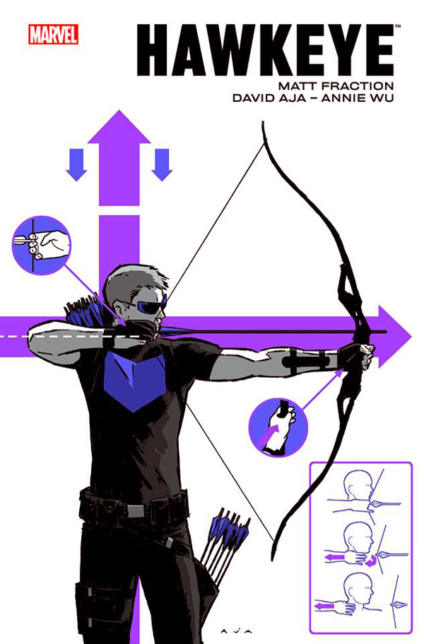 Hawkeye, Volume 1 (Hawkeye (2012) (Collected Editions) # 1-2) by Matt Fraction (Writer), David Aja, комікс Хоукей Соколине Око