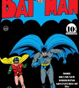 Batman #3 - Adventures of the Batman and Robin, комікси про Бетмена, Бетмен і Робін