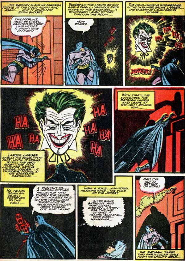 Batman #4 – More whirlwind adventures of Batman and Robin, коміси про бетмена на українській