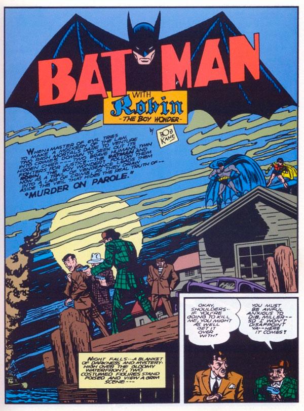 Batman #6 - Murder on Parole, комікси бетмен, комікси дс