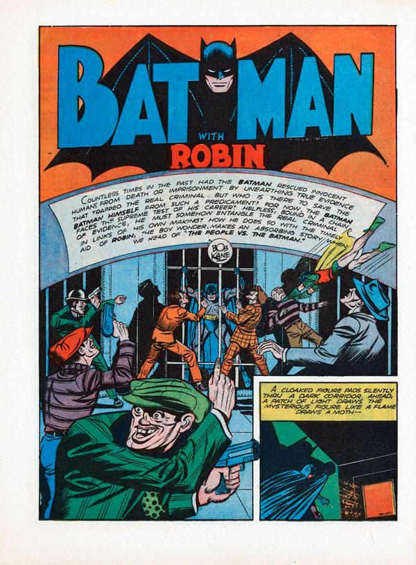 Batman #7 - The Winning Team, комікси про бетмена, читати комікси про бетмена, темний лицар