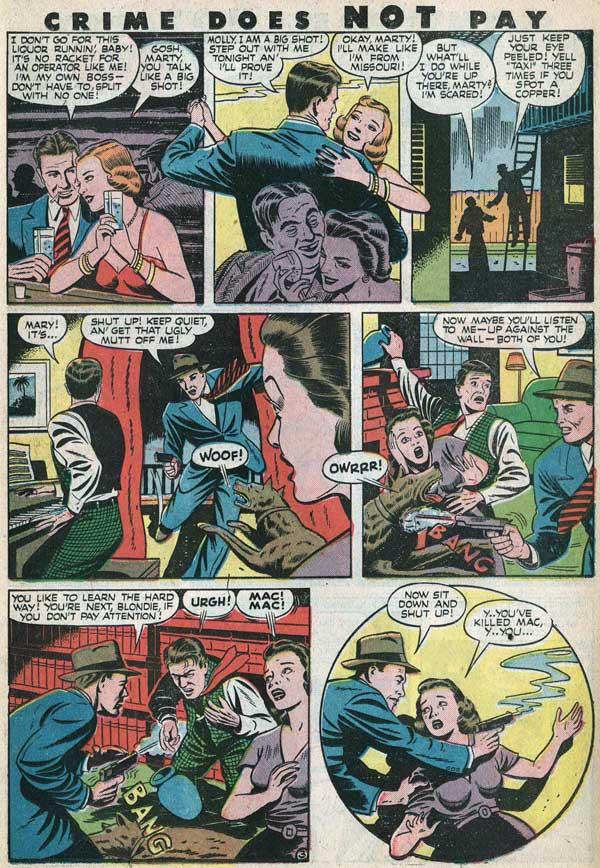 Crime Does Not Pay, Пригоди Бетмена, комікси про Темного Лицаря