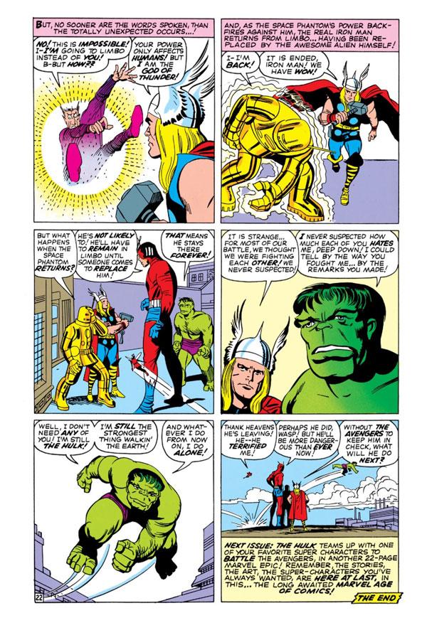 The Avengers #2 - The Avengers Battle the Space Phantom, комікси про Месників українською