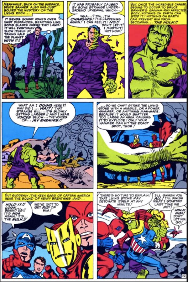 The Avengers #5 - The Invasion of the Lava Men!, комікси про Месників українською