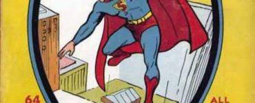 Superman #1, комікси про супермена, перший випуск коміксів про супермена
