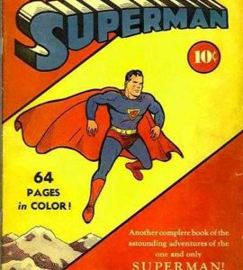 Superman #2, комікси про супермена, перший випуск коміксів про супермена