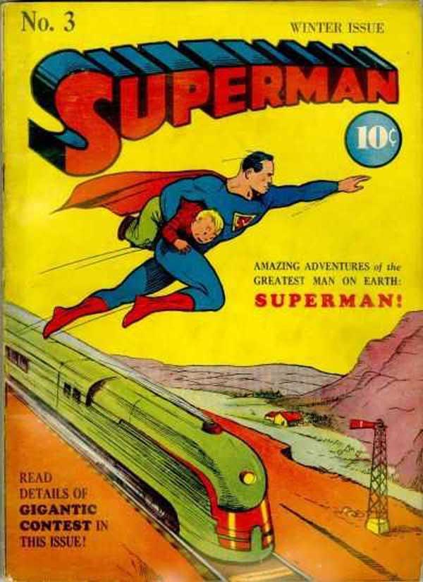 Superman #3, комікси про супермена, перший випуск коміксів про супермена