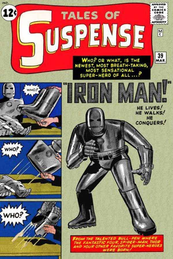 Man In the Iron Armor, Марвел комікси, комікси Залізна Людина, Тоні Старк Марвел комікси